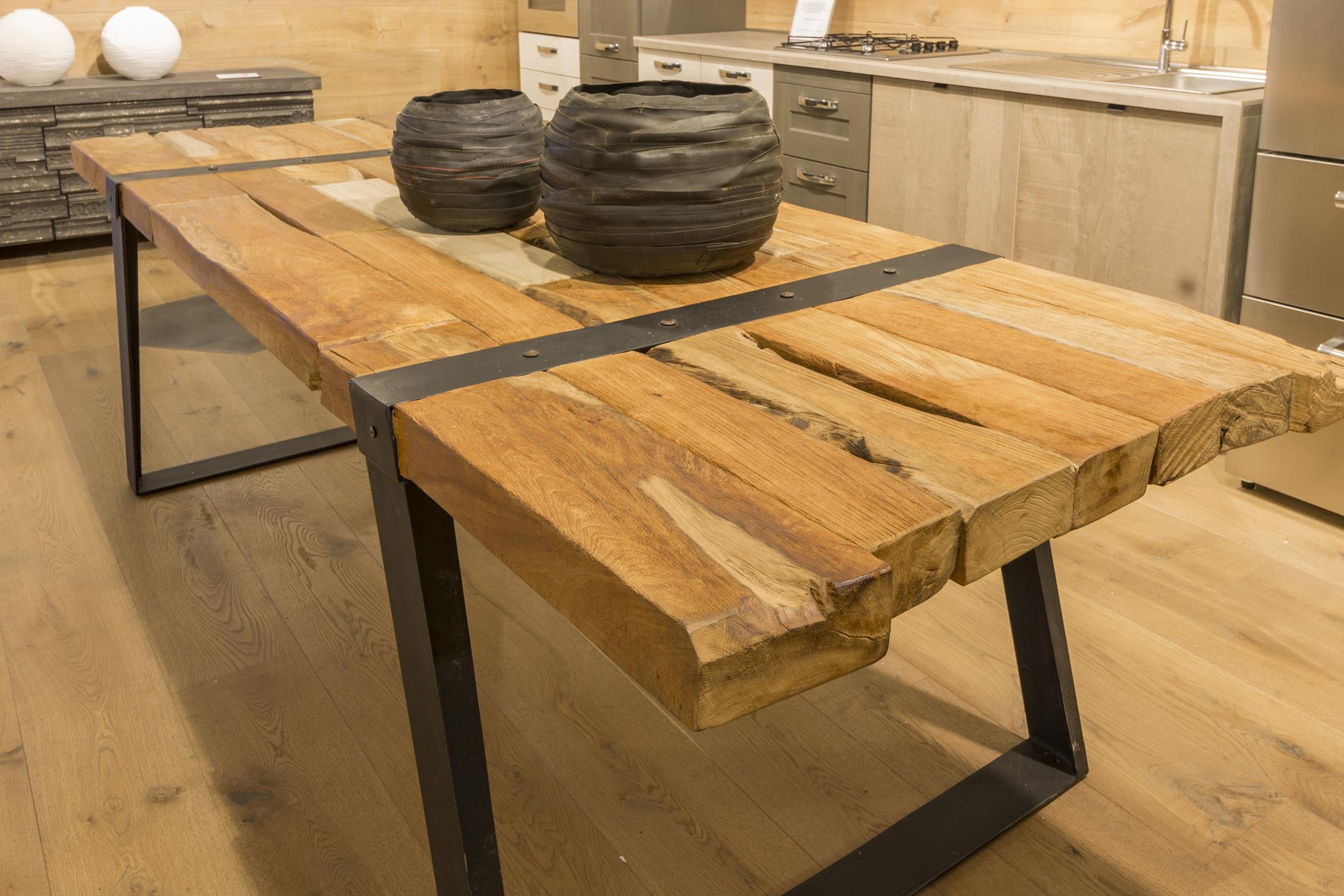 Tavolo In Ferro E Legno : Tavolo legno e ferro terredelgentile