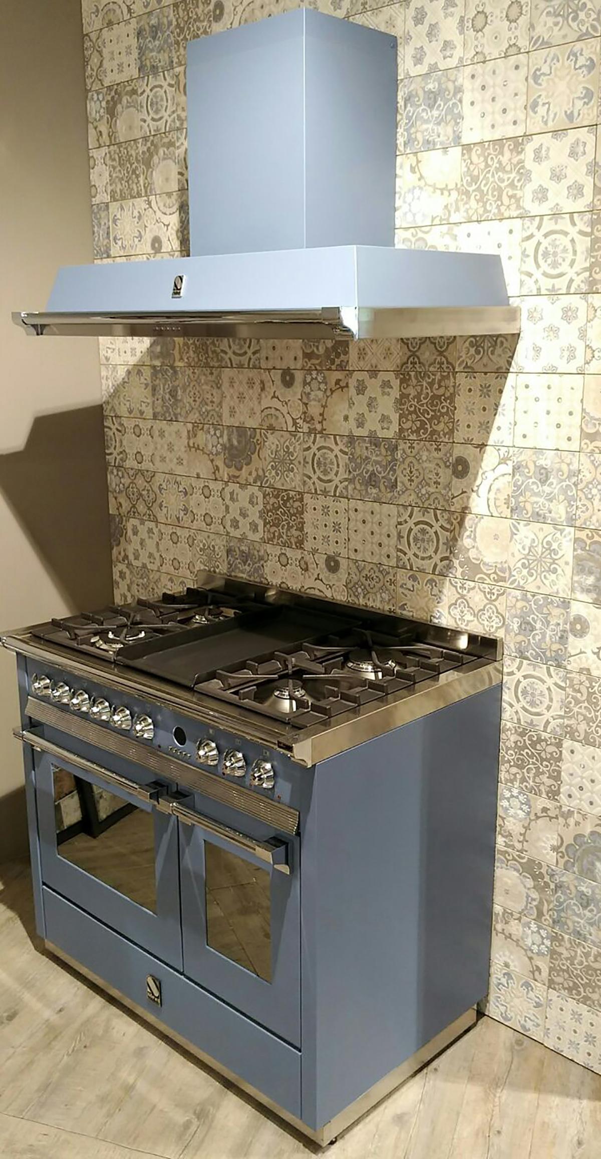 Blocco Cucina Steel Ascot 100 Cm